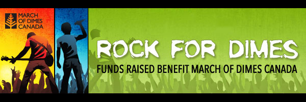 Rock for Dimes eNewsletter