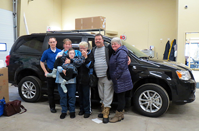 Lomond family - Pennzoil Vehicle Retrofit Initiative 2013 Winners