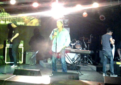 Bret Hart at Rock For Dimes Edmonton 2013