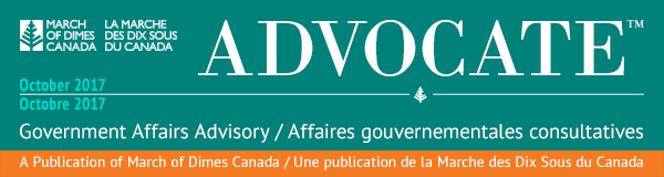 Advocate - October 2017 / Octobre 2017